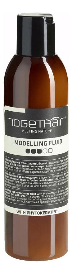 Моделирующий флюид средней фиксации для укладки волос Modelling Fluid 200мл
