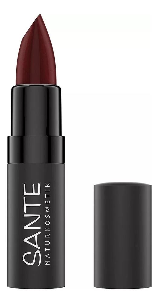 Матовая помада для губ Lipstick Mat Matt Matte 4,5г: 08 Sunset Cherry