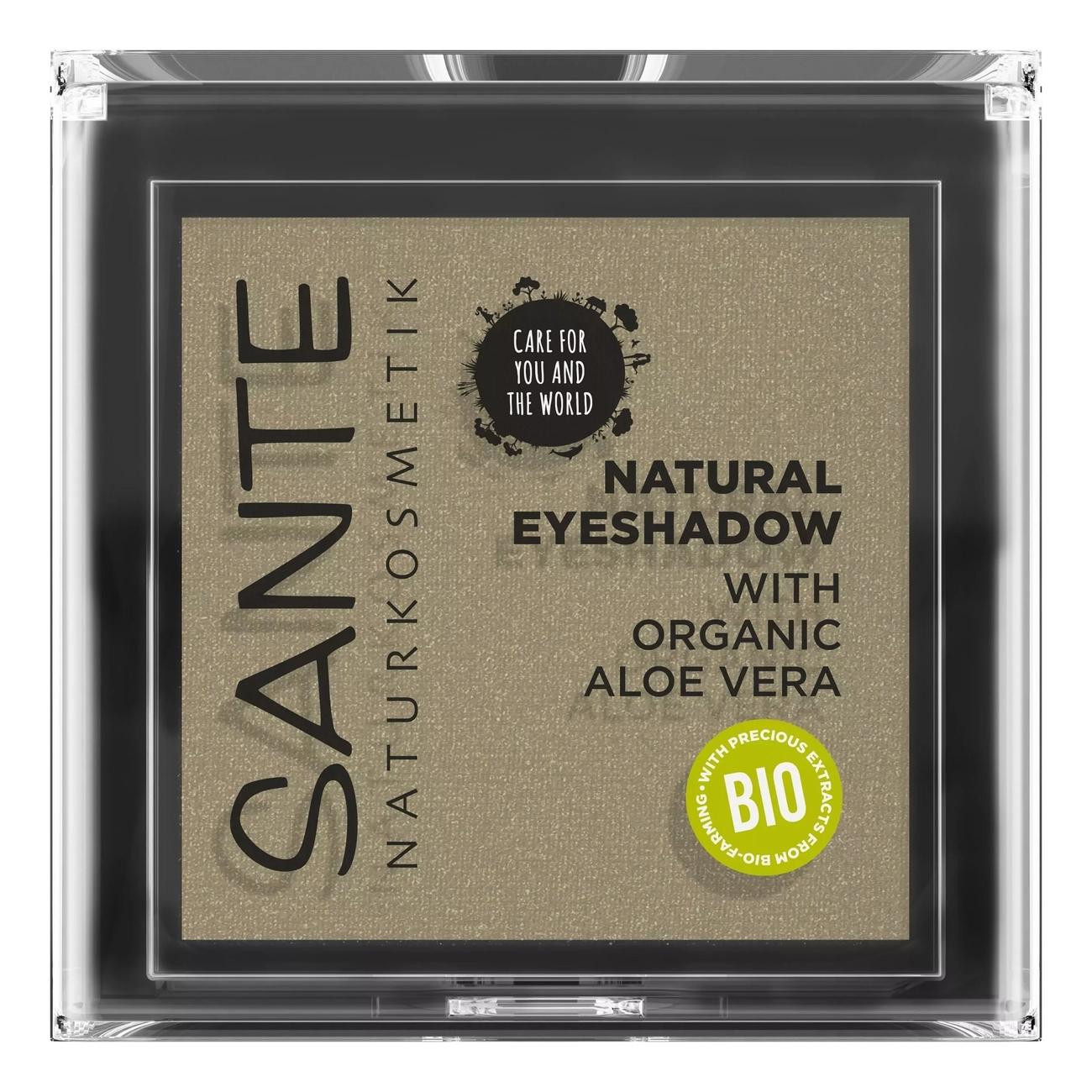 Купить Тени для век Natural Eyeshadow 2г: 04 Tawny Taupe, Sante