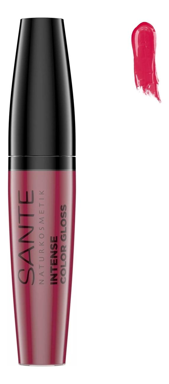 Купить Глянцевый блеск для губ Intense Color Gloss 9мл: 05 Pinkish Hibiscus, Sante