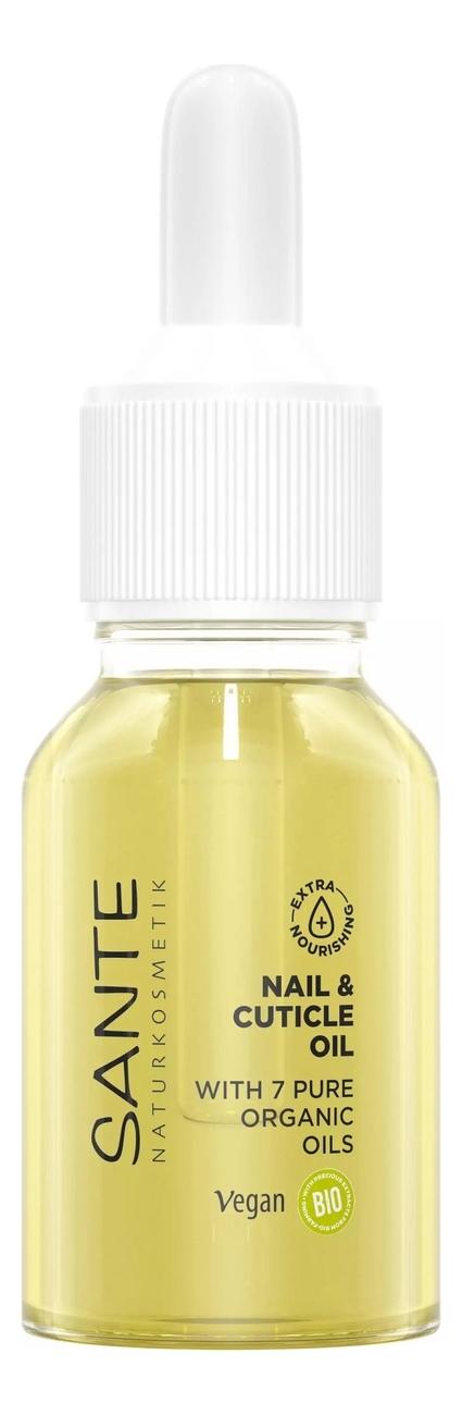 Купить Питательное масло для ногтей и кутикулы Nail & Cuticle Oil 15мл, Питательное масло для ногтей и кутикулы Nail & Cuticle Oil 15мл, Sante
