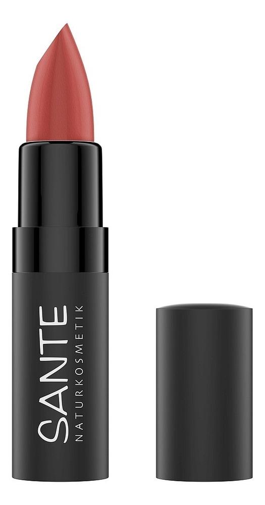 Купить Матовая помада для губ Lipstick Mat Matt Matte 4, 5г: 03 Blissful Terra, Sante