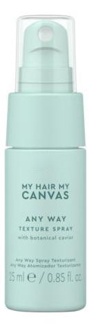 Текстурирующий спрей для волос My Hair My Canvas Any Way Texture Spray: Спрей 25мл недорого
