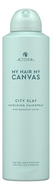 Термозащитный спрей для волос My Hair My Canvas City Slay Shielding Hairspray: Спрей 60мл фото