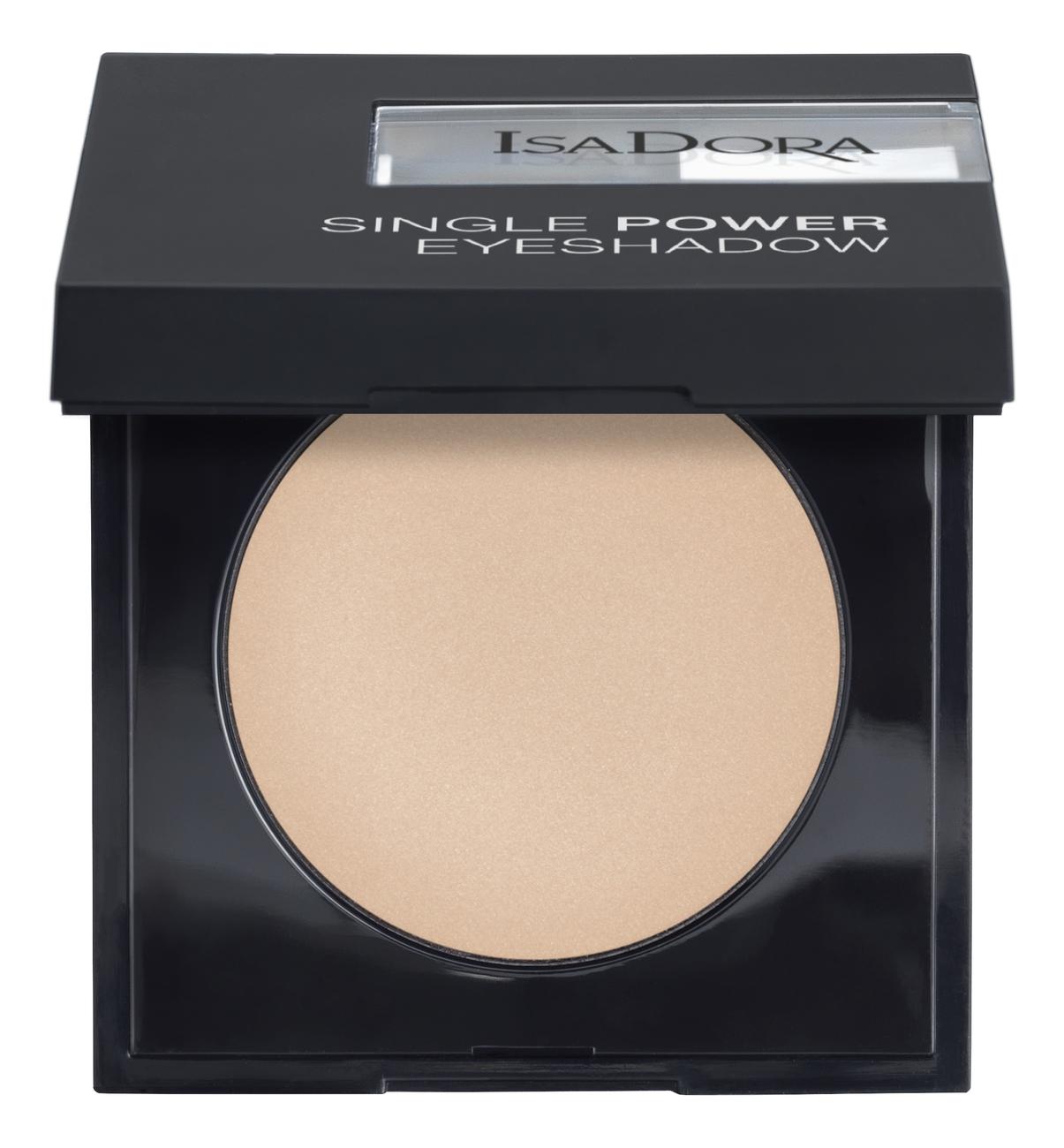 Фото - Тени для век Single Power Eyeshadow 2,2г: 01 Bare Beige тени для век single power eyeshadow 2 2г 05 pink sand