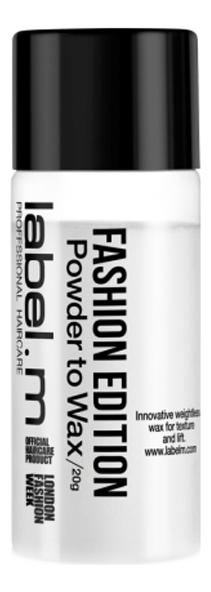 Купить Пудра-воск для укладки волос Fashion Edition Powder To Wax 20г, Label.m