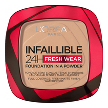 L'oreal Пудра для лица Infaillible 24H Fresh Wear Foundation Make Up 9г