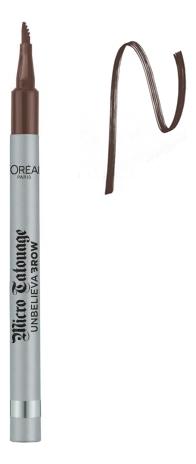 Купить Водостойкий лайнер для бровей Micro Tatouage Unbelieva Brow 1г: No 108, L'oreal