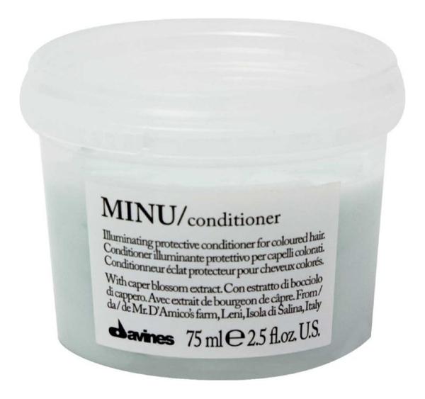 Купить Защитный кондиционер для сохранения цвета волос Minu Conditioner: Кондиционер 75мл, Davines