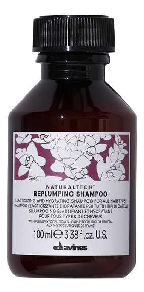 Купить Шампунь для волос Natural Tech Replumping Shampoo: Шампунь 100мл, Davines