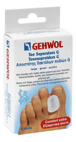 Купить Гель-корректор для большого пальца Zehenspreizer G 3шт: Большой размер, Gehwol