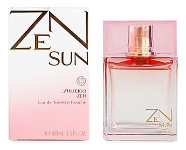 Купить Zen Sun for women: туалетная вода 100мл, Shiseido
