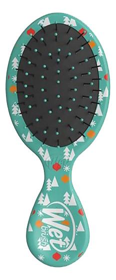 Щетка для волос Mini Detangler Mickey & Minnie Love Joy Teal
