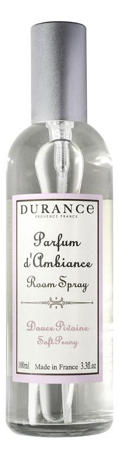 Купить Ароматический спрей для дома Room Spray Soft Peony 100мл (нежный пион), Durance