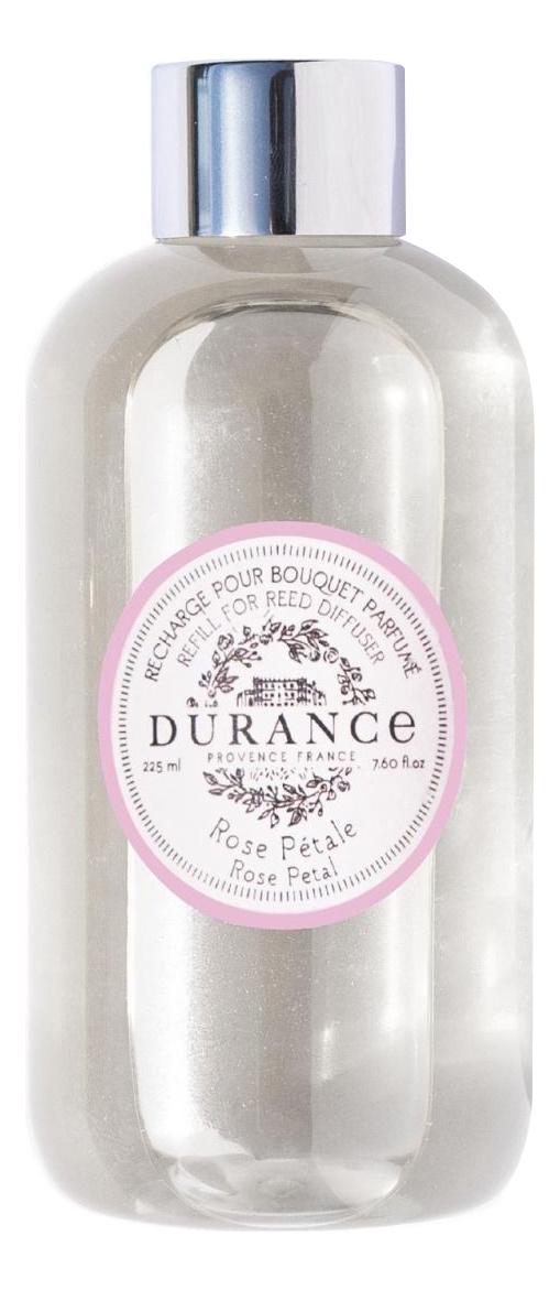 Купить Наполнитель для аромадиффузора Refill For Reed Diffuser Rose Petal 225мл (лепесток розы), Durance