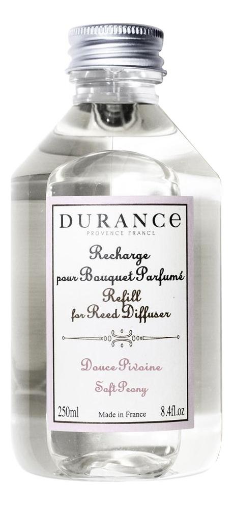 Купить Наполнитель для аромадиффузора Refill For Reed Diffuser Soft Peony 250мл (нежный пион), Durance