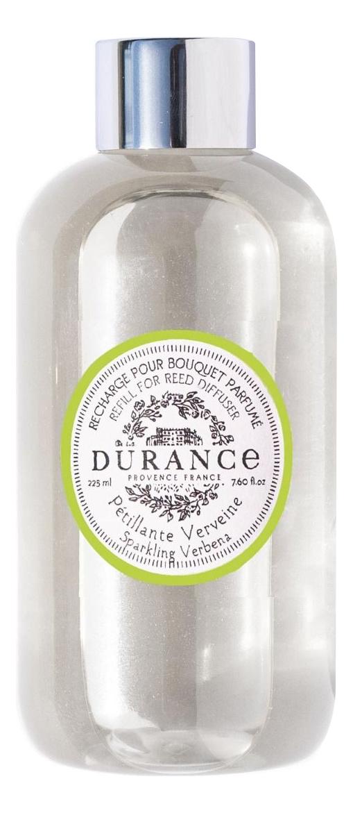 Купить Наполнитель для аромадиффузора Refill For Reed Diffuser Sparkling Verbena 225мл (сверкающая вербена), Durance