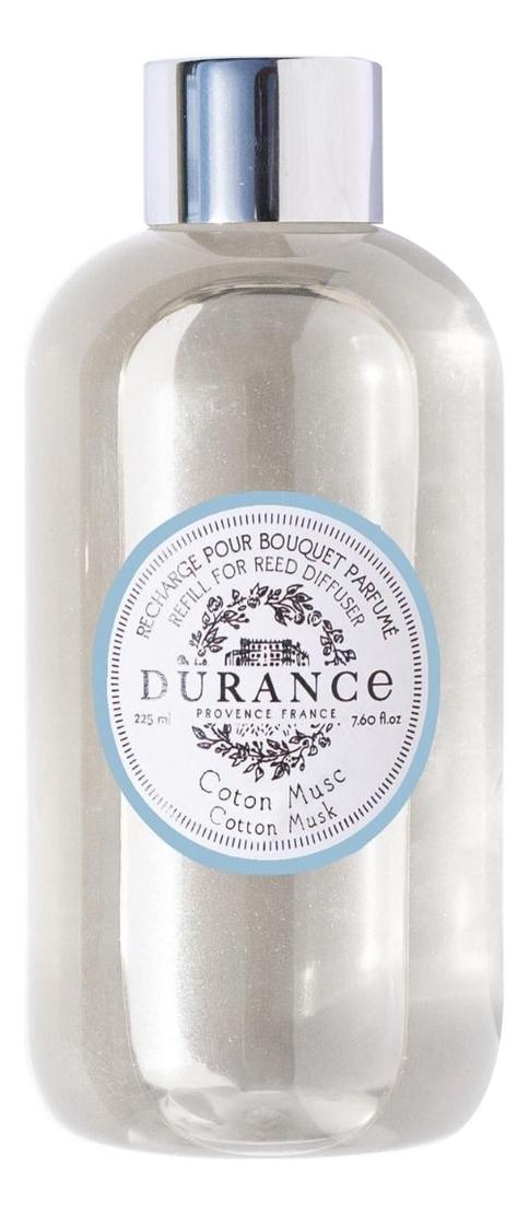 Купить Наполнитель для аромадиффузора Refill For Reed Diffuser Cotton Musk 225мл (хлопковый мускус), Durance