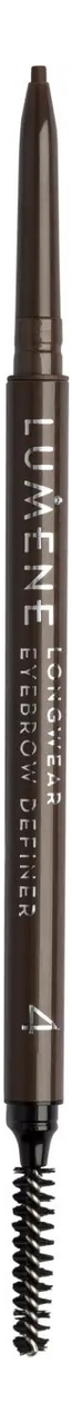 Купить Автоматический карандаш для бровей Longwear Eyebrow Definer 0, 09г: Rich Brown, Lumene
