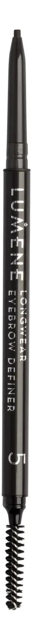 Купить Автоматический карандаш для бровей Longwear Eyebrow Definer 0, 09г: Dark Brown, Lumene
