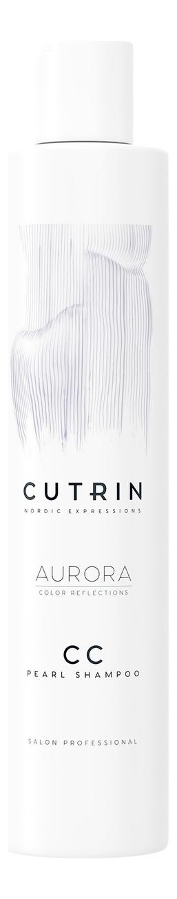 Купить Тонирующий шампунь для волос Aurora CC Color Reflections Shampoo 250мл: Pearl, CUTRIN