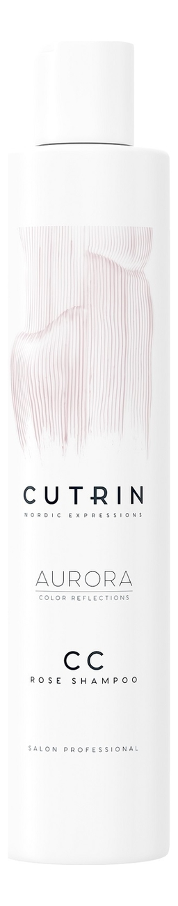 Купить Тонирующий шампунь для волос Aurora CC Color Reflections Shampoo 250мл: Rose, CUTRIN