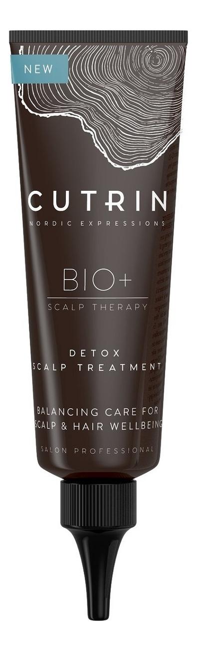 Купить Очищающая маска для кожи головы BIO+ Scalp Therapy Detox Scalp Treatment 75мл, CUTRIN