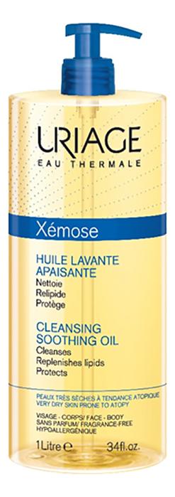 Купить Очищающее успокаивающее масло для тела Xemose Huile Lavante Apaisante: Масло 1000мл, Uriage