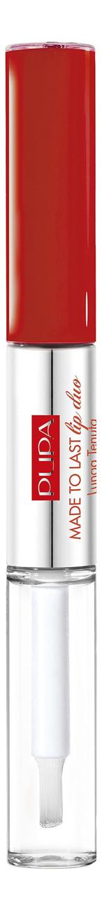 Купить Жидкая помада для губ Made To Last Lip Duo 8мл: No 18, PUPA Milano
