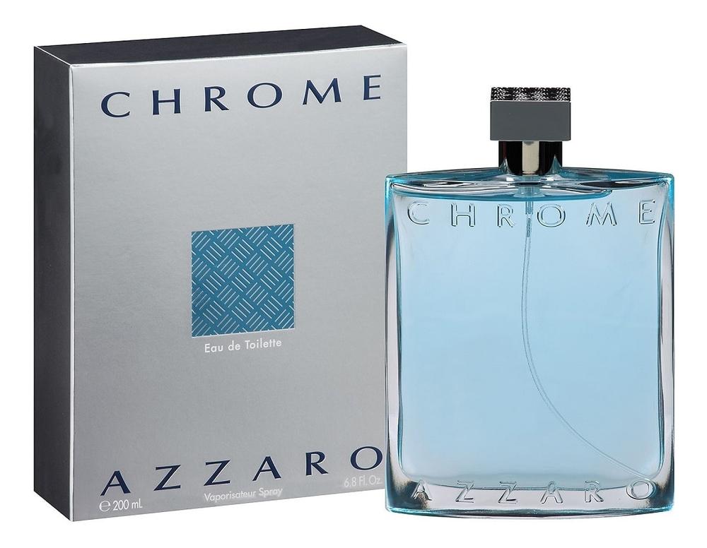 Купить Chrome: туалетная вода 200мл, Azzaro