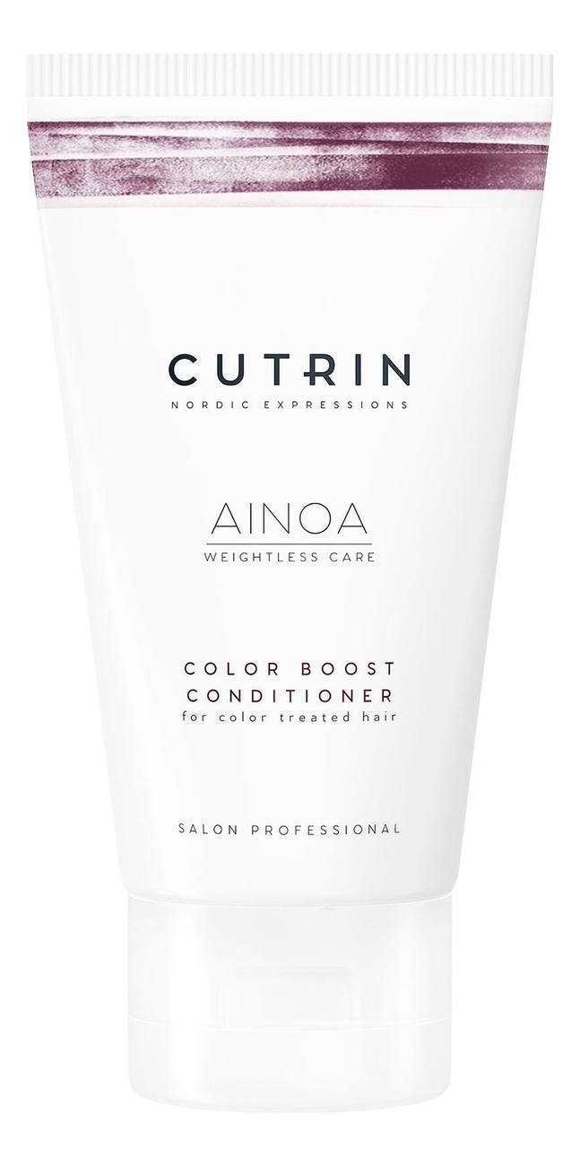 Купить Кондиционер для сохранения цвета волос Ainoa Color Boost Conditioner: Кондиционер 200мл, CUTRIN
