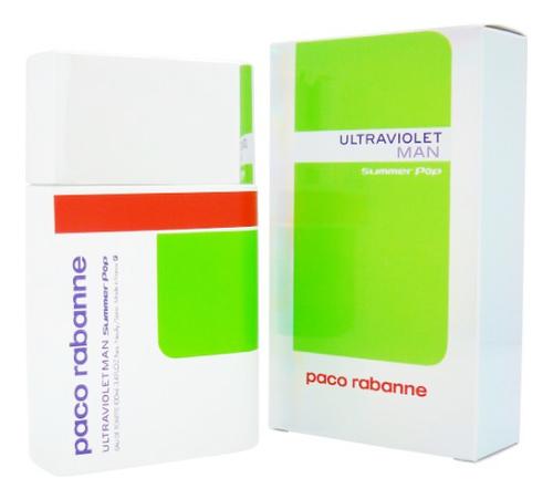Paco Rabanne Ultraviolet Summer Pop Man: туалетная вода 100мл ultraviolet edр 50 мл paco rabanne 8 марта женщинам