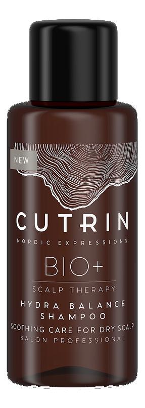 Купить Шампунь для увлажнения кожи головы Bio+ Hydra Balance Shampoo: Шампунь 50мл, CUTRIN
