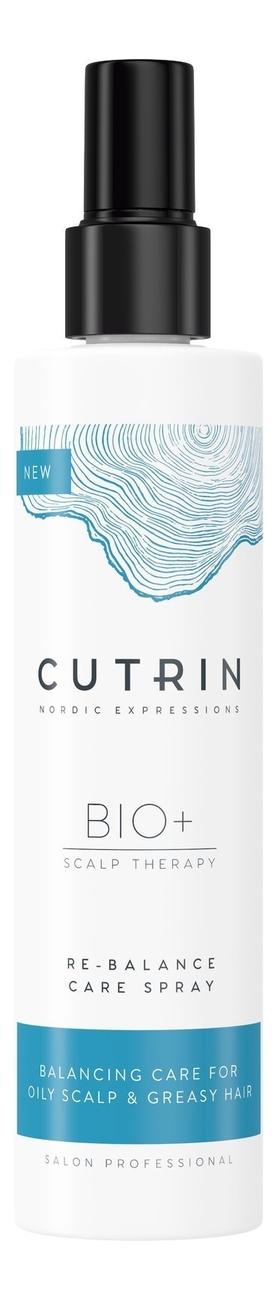 Купить Несмываемый спрей-кондиционер для жирной кожи головы Bio+ Re-Balance Care Spray 200мл, CUTRIN