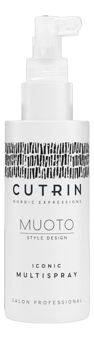Купить Культовый многофункциональный спрей для укладки волос Muoto Iconic Multispray: Спрей 100мл, CUTRIN