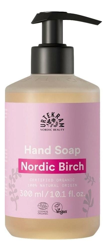Жидкое мыло для рук с экстрактом северной березы Organic Hand Soap Nordic Birch: Мыло 300мл