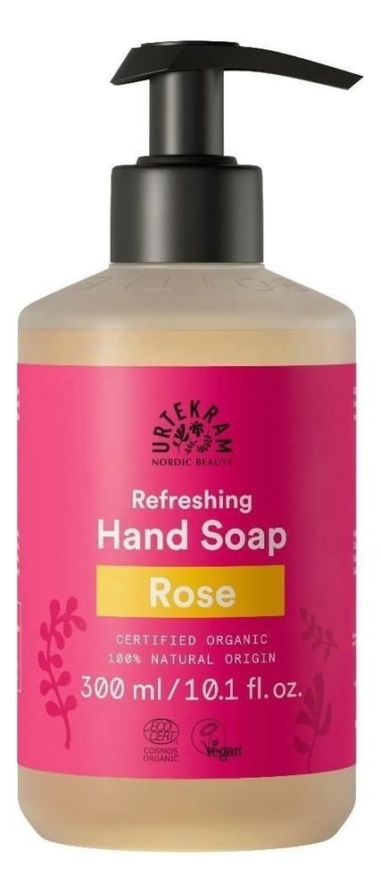 Жидкое мыло для рук с экстрактом розы Organic Refreshing Hand Soap Rose: Мыло 300мл