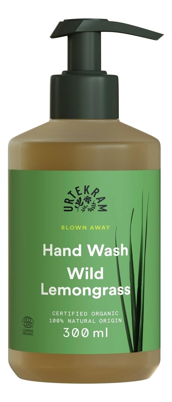 Купить Жидкое мыло для рук с экстрактом дикого лемонграсса Organic Hand Wash Wild Lemongrass: Мыло 300мл, Urtekram