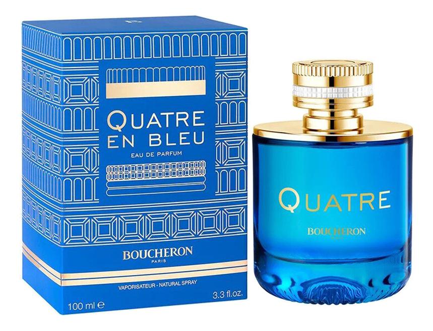 Купить Quatre En Bleu: парфюмерная вода 100мл, Boucheron