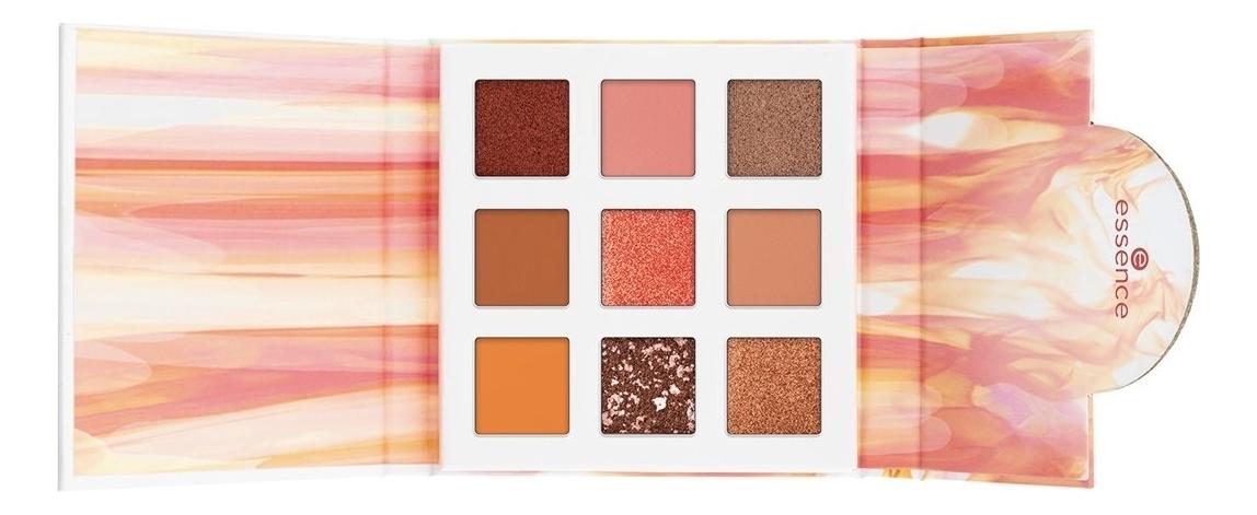 Палетка теней для век My Power Is Eyeshadow Palette 7,2г: Fire палетка теней для век viper eyeshadow palette