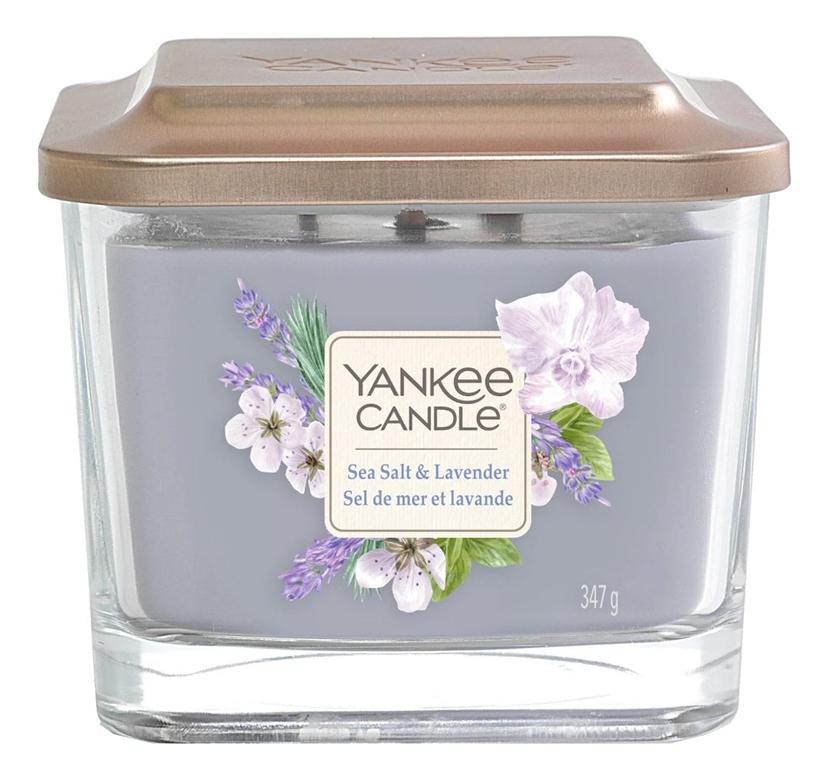 Купить Ароматическая свеча Sea Salt & Lavender: свеча 347г, Ароматическая свеча Sea Salt & Lavender, Yankee Candle