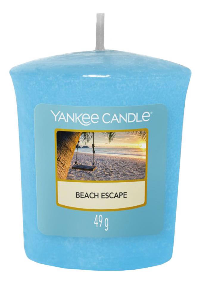 Купить Ароматическая свеча Beach Escape: свеча 49г, Yankee Candle