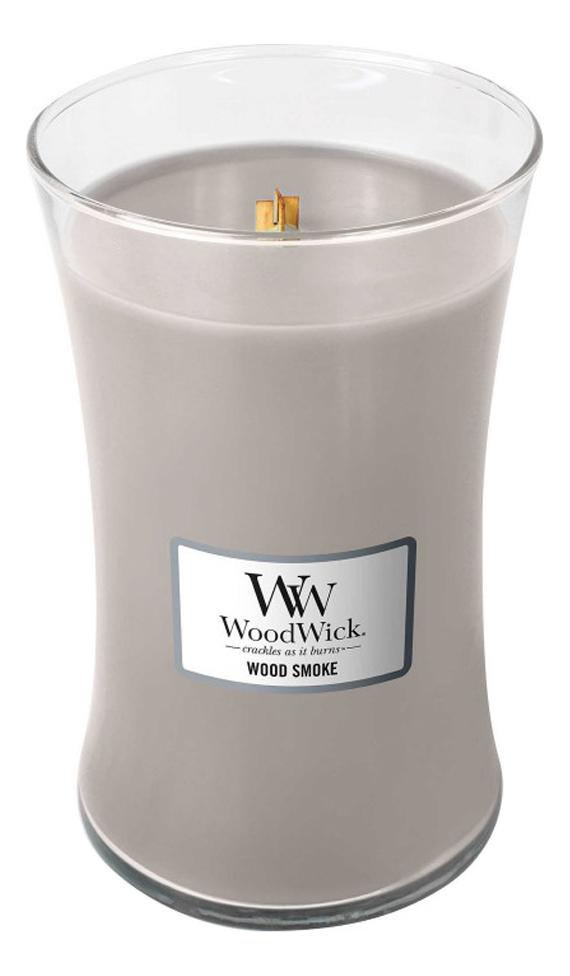 Купить Ароматическая свеча Wood Smoke: свеча 610г, WoodWick