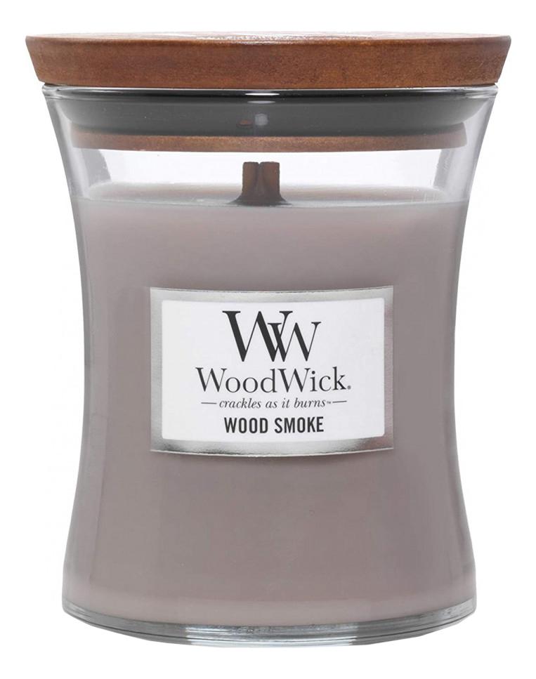 Купить Ароматическая свеча Wood Smoke: свеча 275г, WoodWick