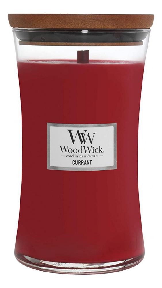 Купить Ароматическая свеча Currant: свеча 609, 5г, WoodWick