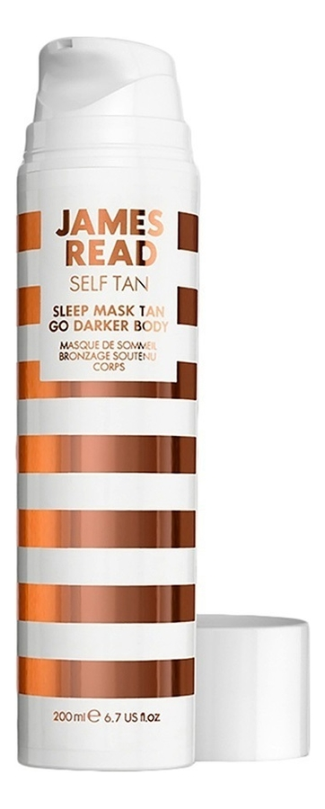 Купить Ночная маска для тела Sleep Mask Tan Go Darker Body 200мл, James Read