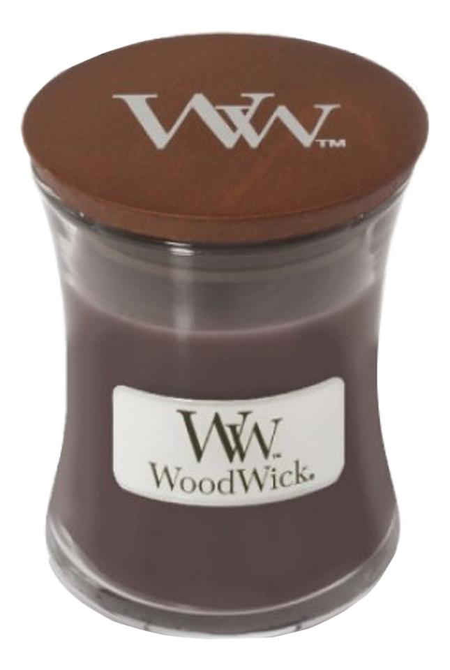 Купить Ароматическая свеча Suede & Sandalwood: свеча 275г, Ароматическая свеча Suede & Sandalwood, WoodWick
