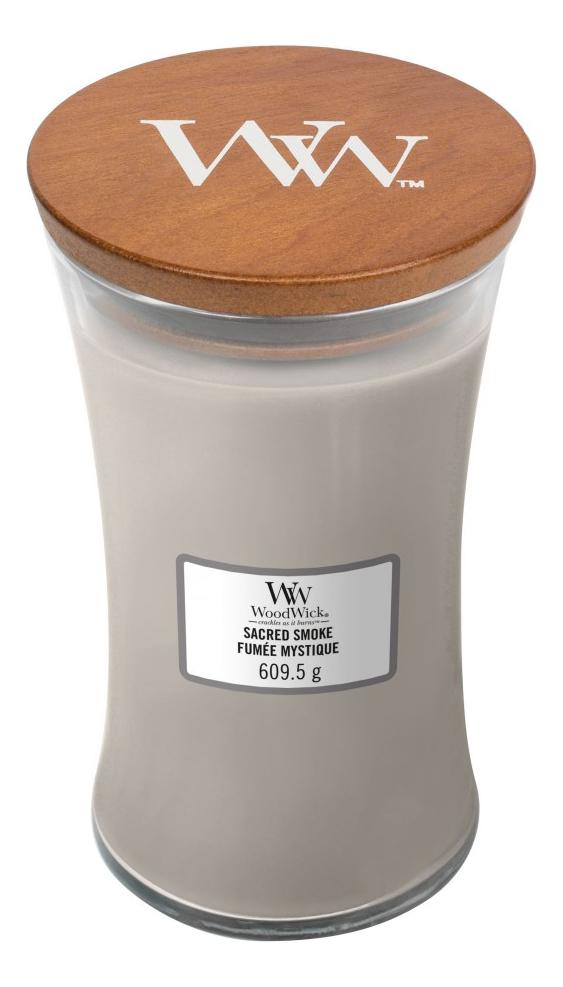 Купить Ароматическая свеча Sacred Smoke: свеча 275г, WoodWick