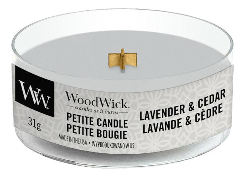 Фото - Ароматическая свеча Lavender & Cedar: свеча 31г ароматическая свеча кедр cedar свеча 380г