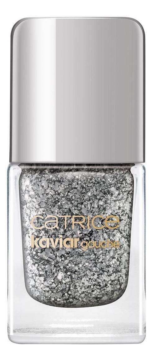 Лак для ногтей Kaviar Gauche Nail Lacquer 10,5мл: C01 Flirty Glitter